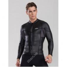Áo Bơi Nam Wetsuit Dạng Vest Sbart Dày 2mm - Kéo Khoá