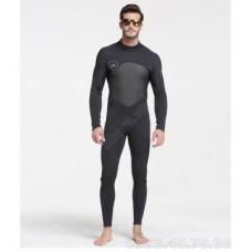 Bộ Đồ Lặn Nam Giữ Nhiệt Dày Wetsuit 3mm Sbart 1070 - Đen