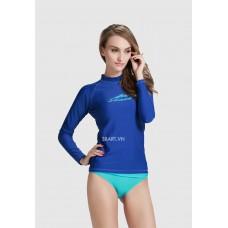 Áo Bơi Dài Tay Nữ Sbart 916 - Xanh