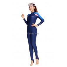 Bộ Bơi Liền Quần Dài Tay Dài Tới Gót 715 Nữ