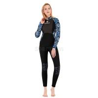 Bộ Lặn Nữ Sbart Giữ Nhiệt Dày Wetsuit 3mm 1315 Xanh