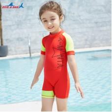 Bộ Bơi Trẻ Em Liền Cộc DS41 Cam