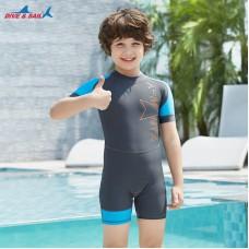 Bộ Bơi Trẻ Em Liền Cộc DS41 Ghi