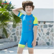 Bộ Bơi Trẻ Em Liền Cộc DS41 Xanh